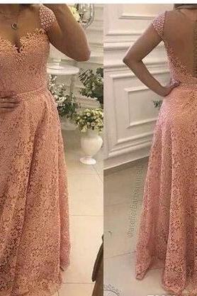 Sweetheart Lace A Line Prom Dresses Floor Length Gorgeous Appliques Beaded Evening Dress Formal Gowns