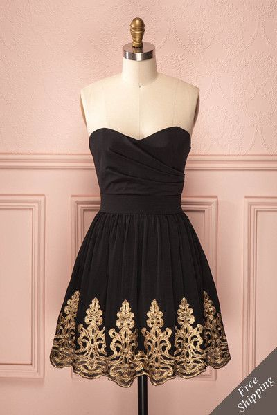 1950S Vintage Prom Dress, Black Prom Gowns, Lace Homecoming Dress, Mini Short Homecoming Gowns