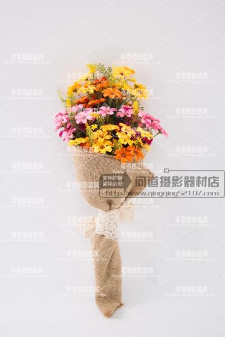 New Arrival Wedding Bouquet Handmade Flowers Colorful Sunflowers Bridal Bouquet Wedding bouquets