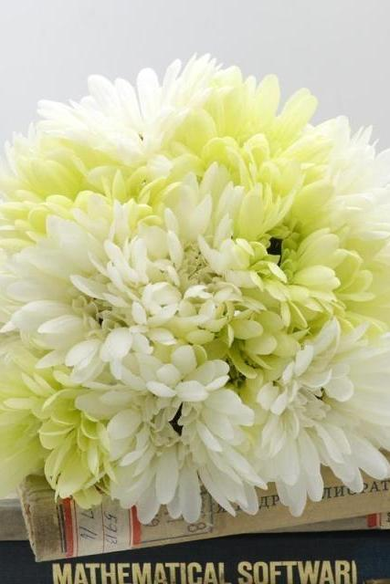 New Arrival Wedding Bouquet Handmade Flowers White and Beige Bridal Bouquet Wedding bouquets