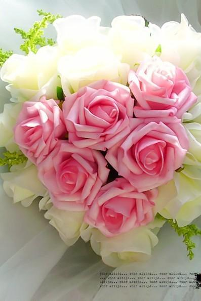 New Arrival Wedding Bouquet Handmade Flowers Pink and White Wedding Flowers Bridal Bouquet Wedding bouquets