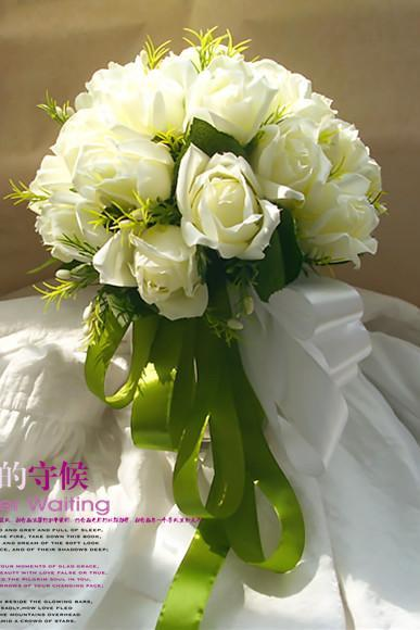 New Arrival Wedding Bouquet Handmade Flowers White Rose Wedding Flowers Bridal Bouquet Wedding bouquets